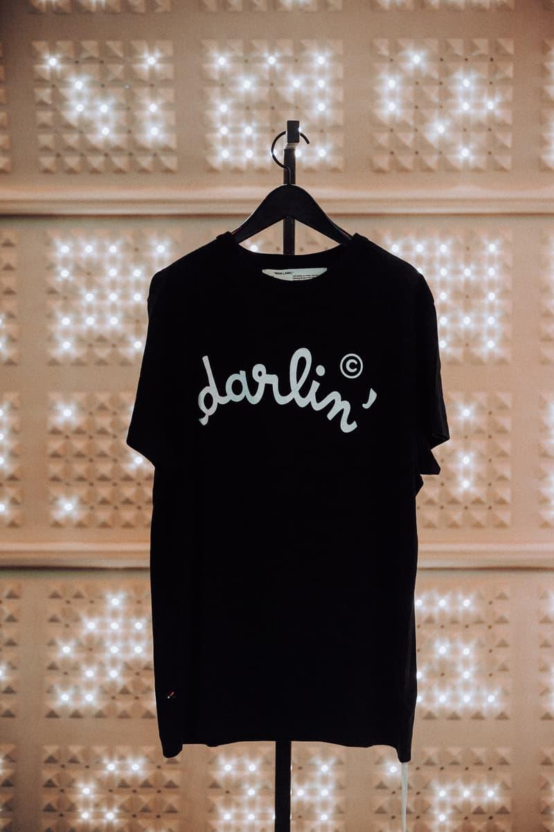 OFF-WHITE Daft Punk Darlin' Merch Maxfield Pop-Up