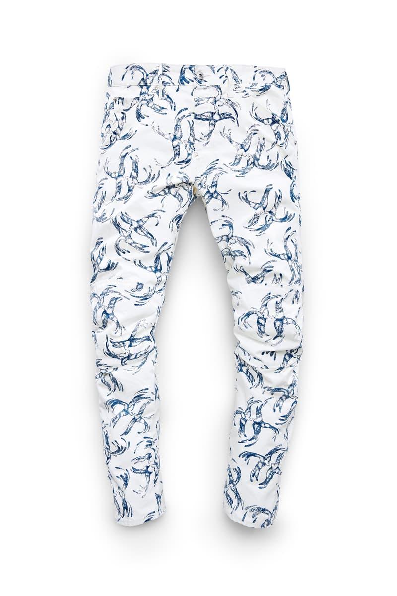Pharrell Williams G-Star Elwood X25 2017 Spring/Summer Collection Pants Denim