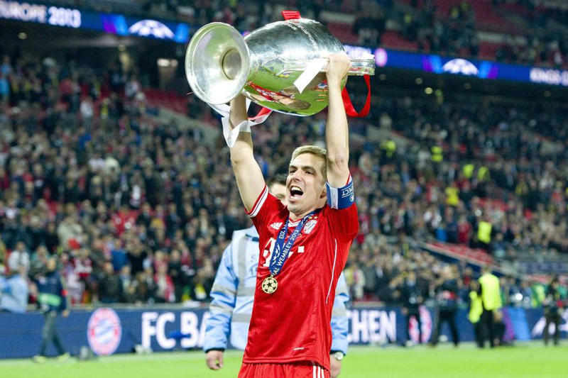 Bayern Munich Captain Philipp Lahm Announces His Plan to Retire at the End of the Season Bundesliga Football Soccer