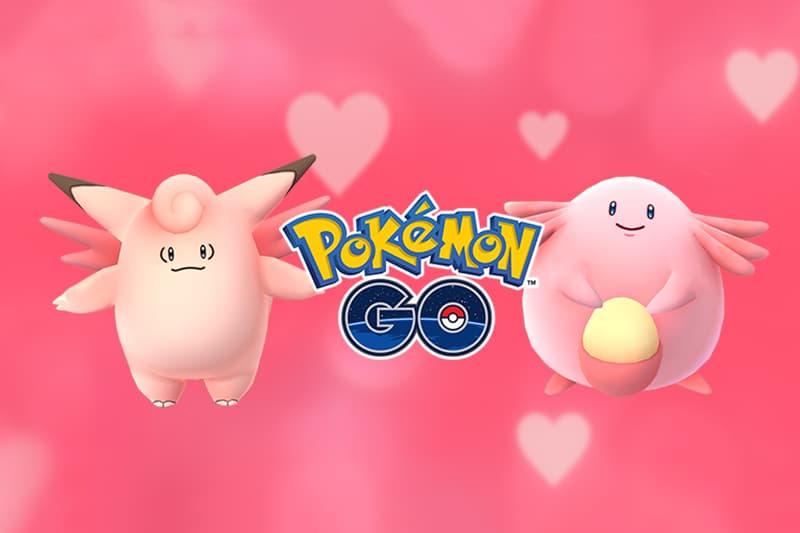 Pokemon GO Valentines Day Event