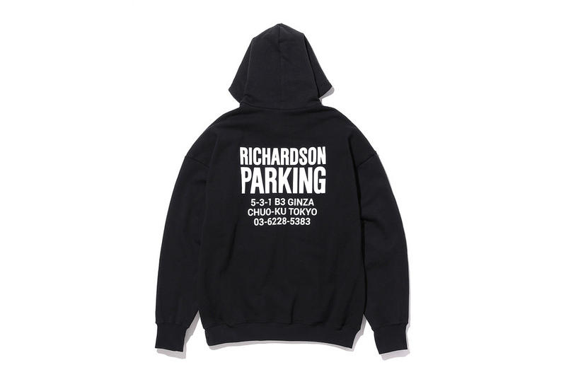 Bonjour Records x Richardson x THE PARK · ING GINZA 2017 Capsule