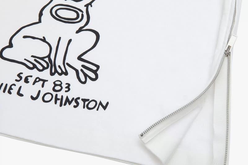 sacai spring summer 2017 Daniel Johnston Tshirt