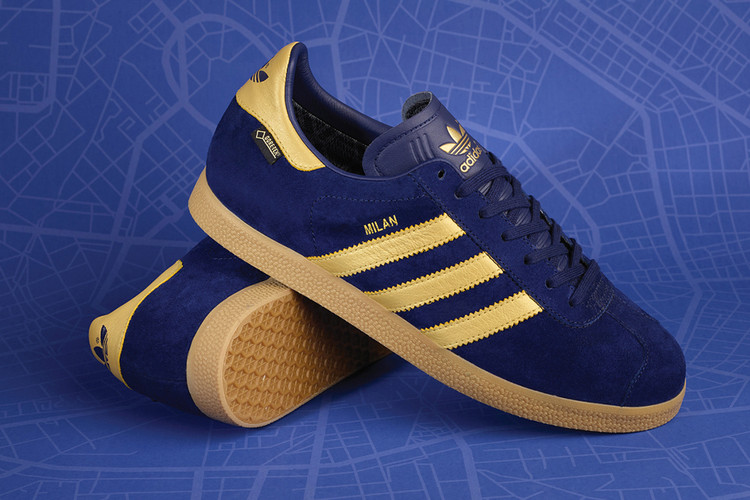 on sale 33559 7cdd0 adidas Originals and size Release a Ritzy Colorway for the Gazelle GTX  Milan