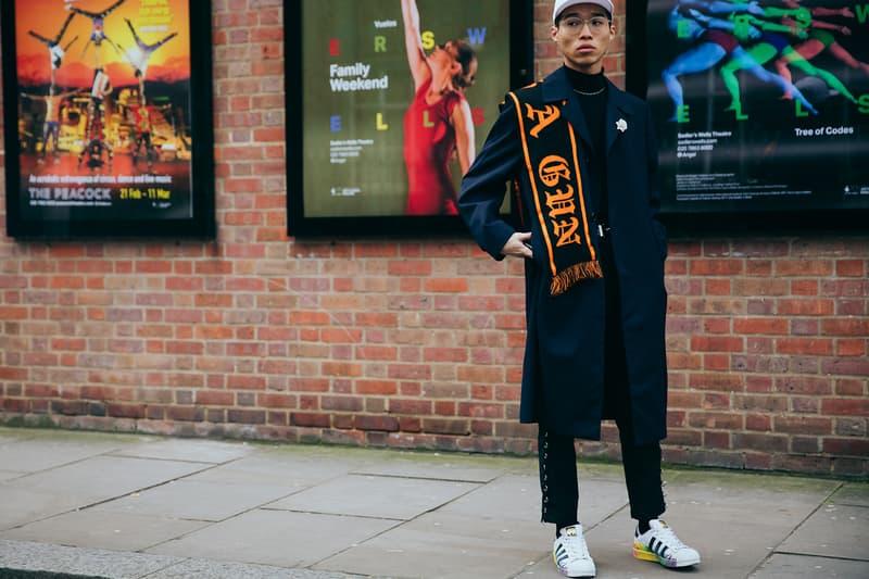 Streetsnaps London Fashion Week February 2017 streetstyle fashion