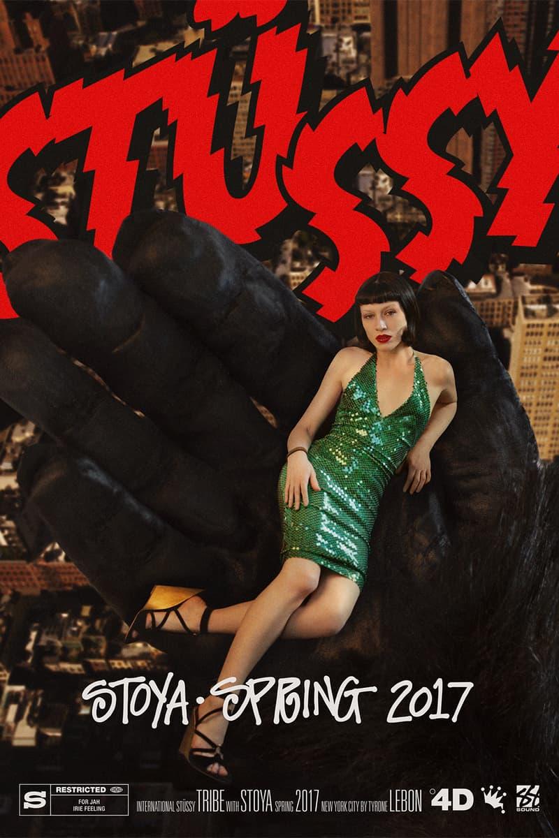 Stussy 2017 Spring Campaign Tyrone Lebon