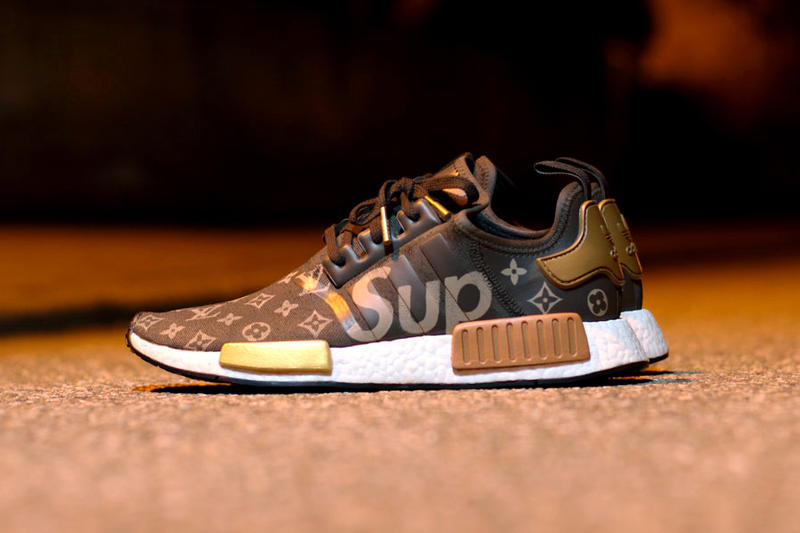 a82498322 What a Supreme x Louis Vuitton x adidas NMD R1 Collaboration Might Look  Like Footwear Three