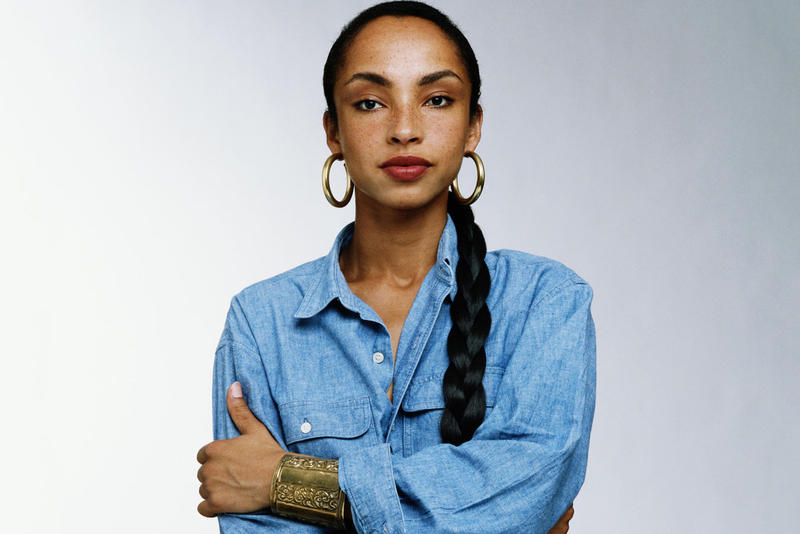 Sade Adu Side Profile