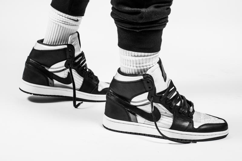 The Shoe Surgeon COMME des GARÇONS x Air Jordan 1  e786a0030b