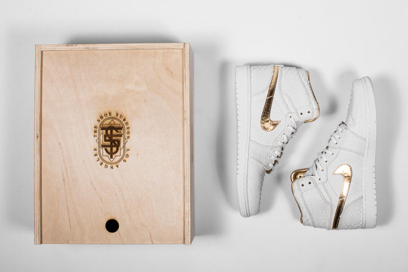 The Shoe Surgeon DJ Khaled Grateful Album Custom Air Jordan 1