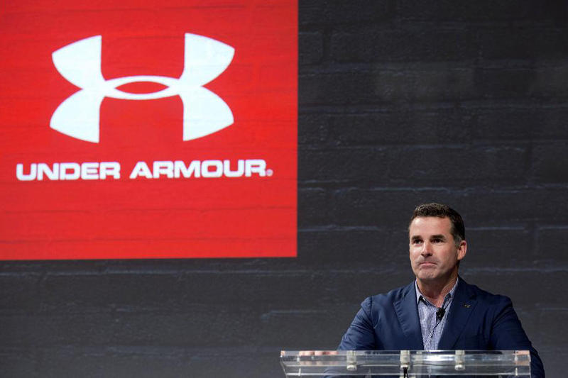 under armour kevin plank ceo sportswear