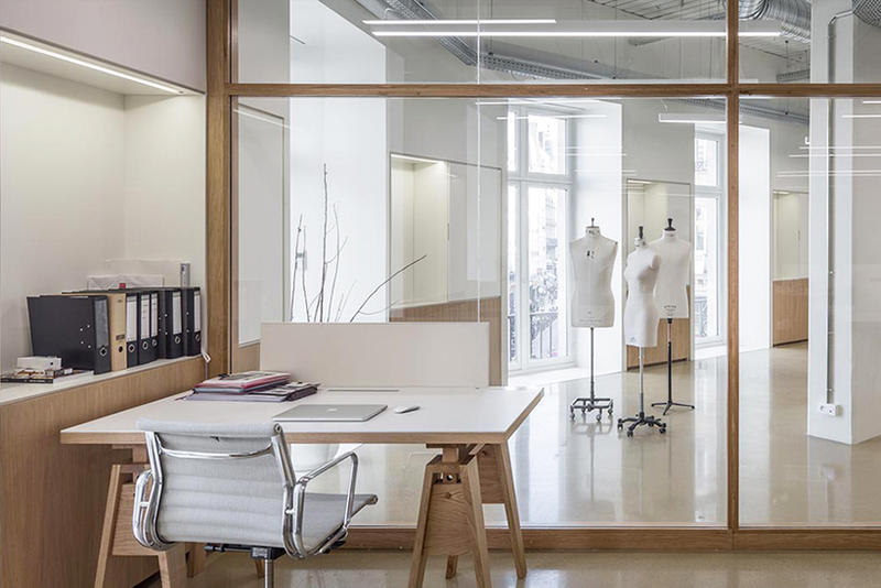 uniqlo U Paris Design Studio Showroom