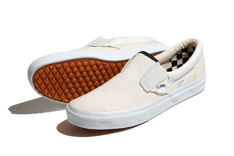 Vans BEAMS Reverse Checkerboard Slip On