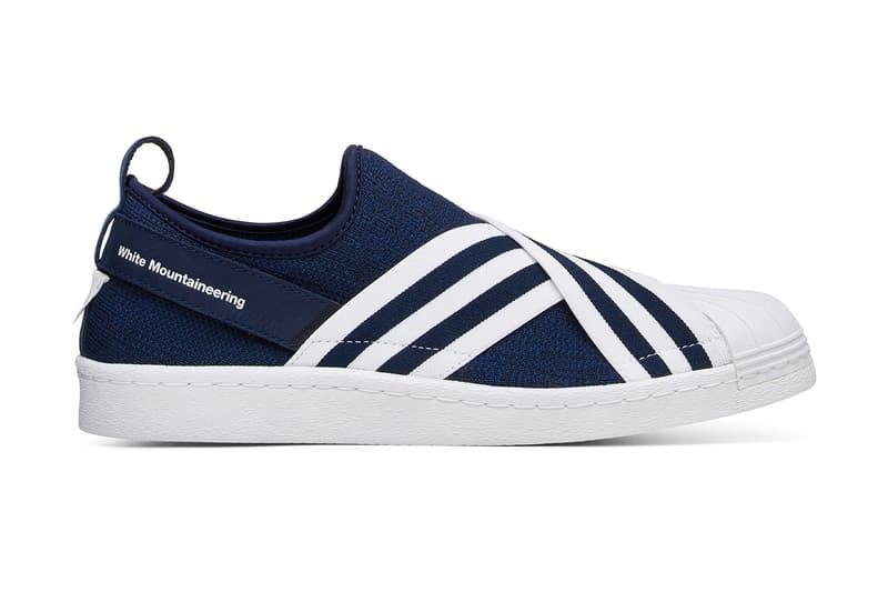 1e4cf6ef0487 White Mountaineering x adidas Originals Superstar Slip-On