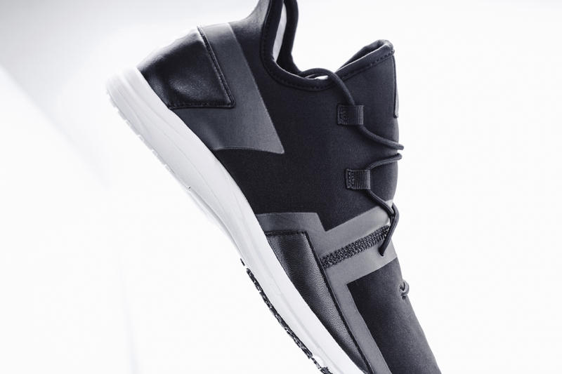 "Y-3 Arc RC Sneaker in ""Core Black"""