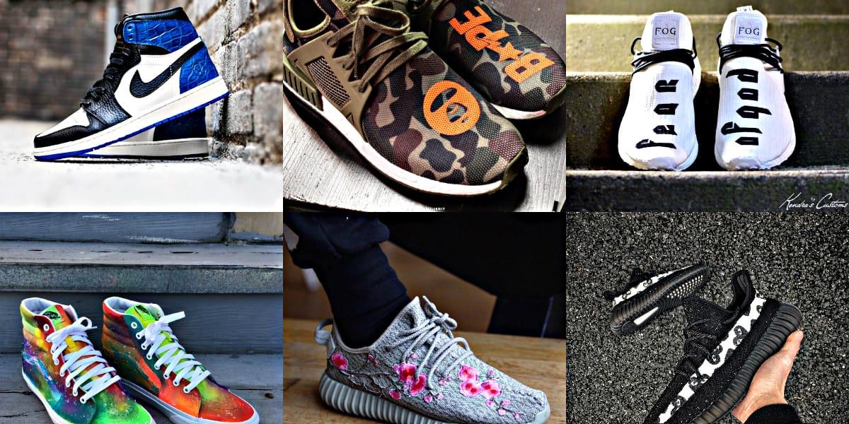 10 Custom Sneakers Instagram | HYPEBEAST