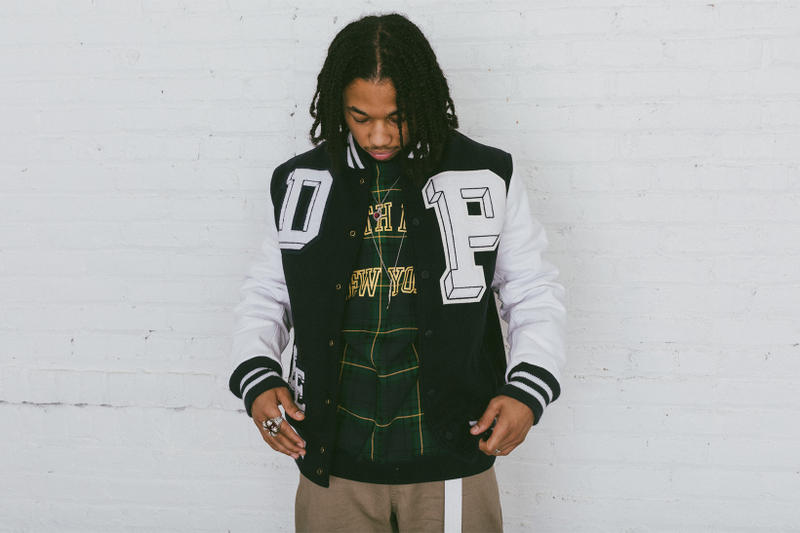 10 Deep Golden Bear Varsity Jacket 2017 Spring Summer