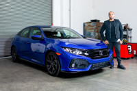 The Honda Civic Hatchback Returns to America for 2017
