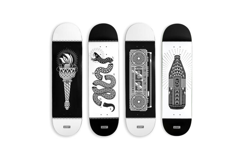 5BORO Artist Series Dan Funderburgh Skateboards