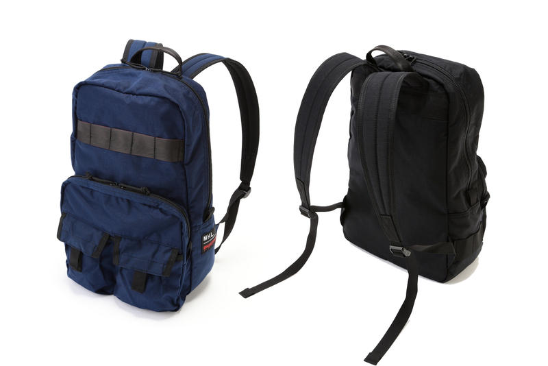 MHL Margaret Howell Backpack Beige And Black