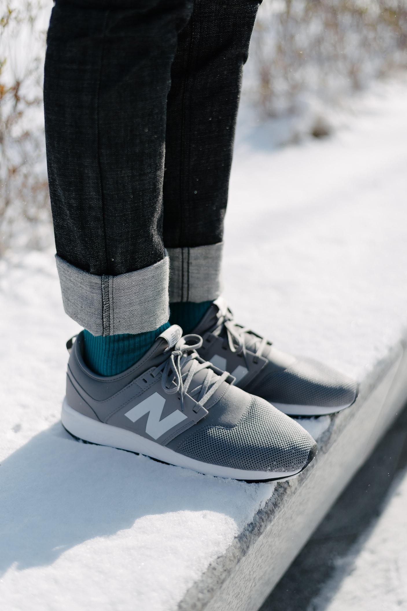 New Balance 247 Classic SAMBYPEN King Cookdaily grey white seoul
