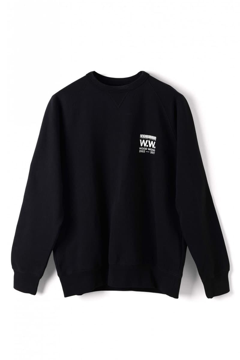 Wood Wood x Neighborhood Collaboration Black Sweatshirt