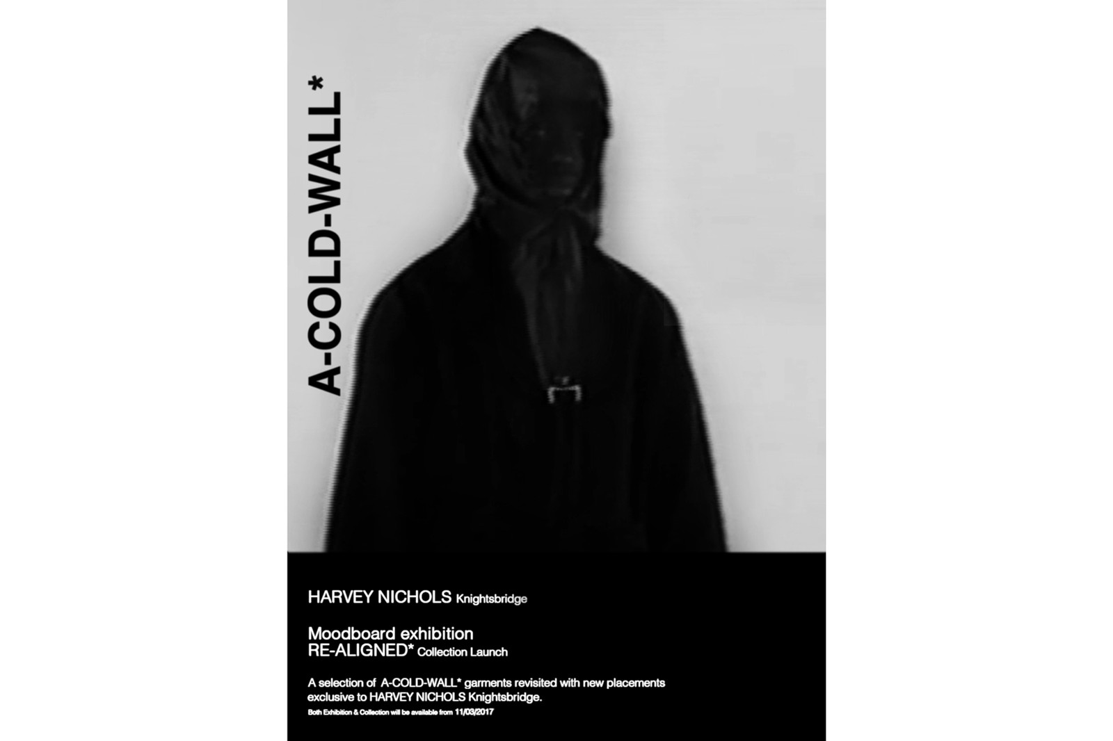 A COLD WALL Harvey Nichols London Samuel Ross