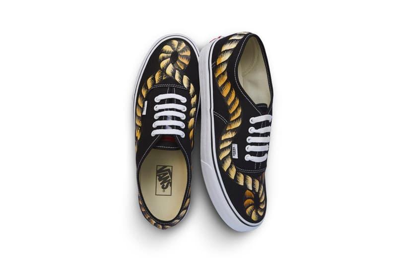 À La Garçonne Vans Authentic Hand-Painted Rope Sneakers