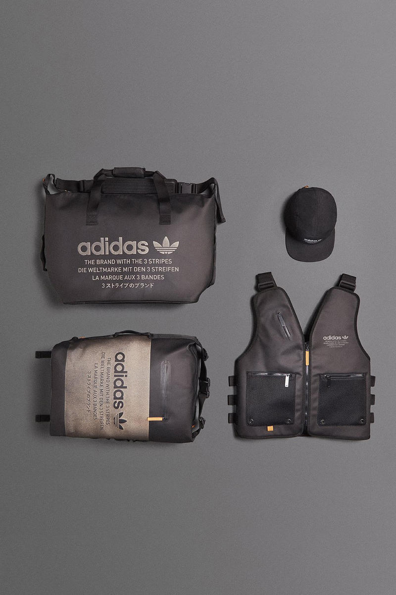 8a21abdf8 adidas Reveals a Badass New Collection of Accessories. Including a flak  jacket-inspired vest. adidas Flak Jacket Vest