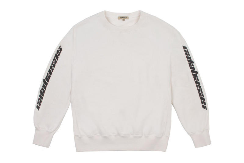 Kanye West x adidas Calabasas Collection Crewneck White