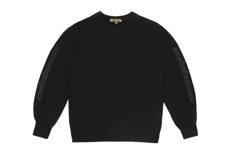 Kanye West x adidas Calabasas Collection Crewneck Black