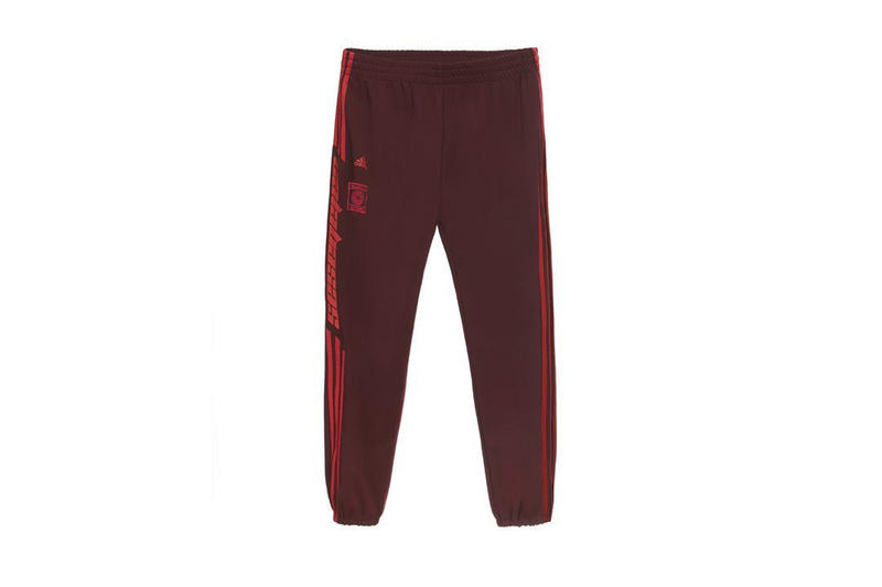 Kanye West x adidas Calabasas Collection Track Pants Red