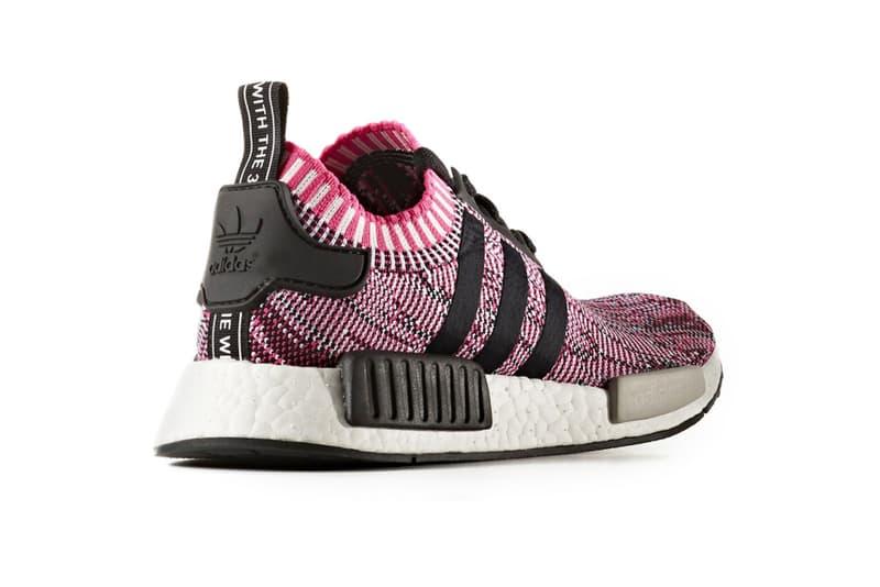 adidas NMD R1 Primeknit Glitch Camo Sneakers