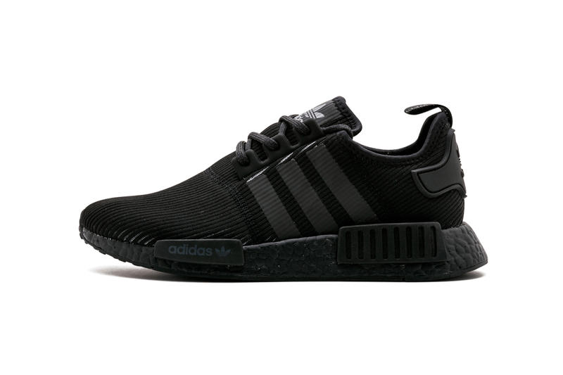 adidas NMD R1 Ribbed Triple Black