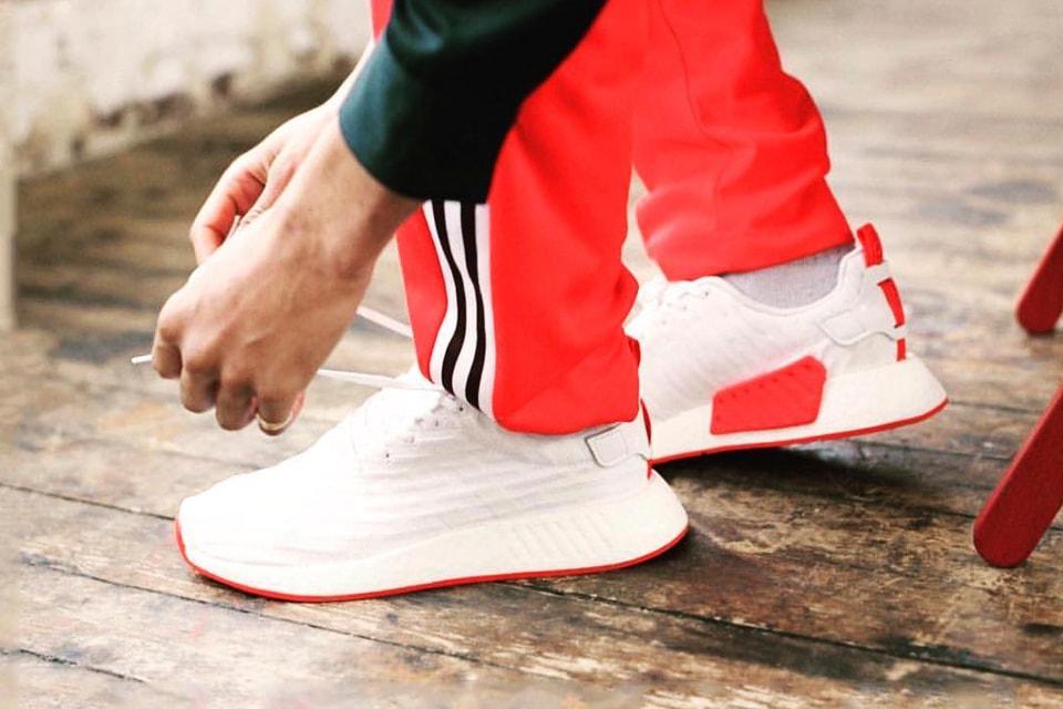 pretty nice 61c5f 43b68 adidas NMD_R2 in White & Red | HYPEBEAST