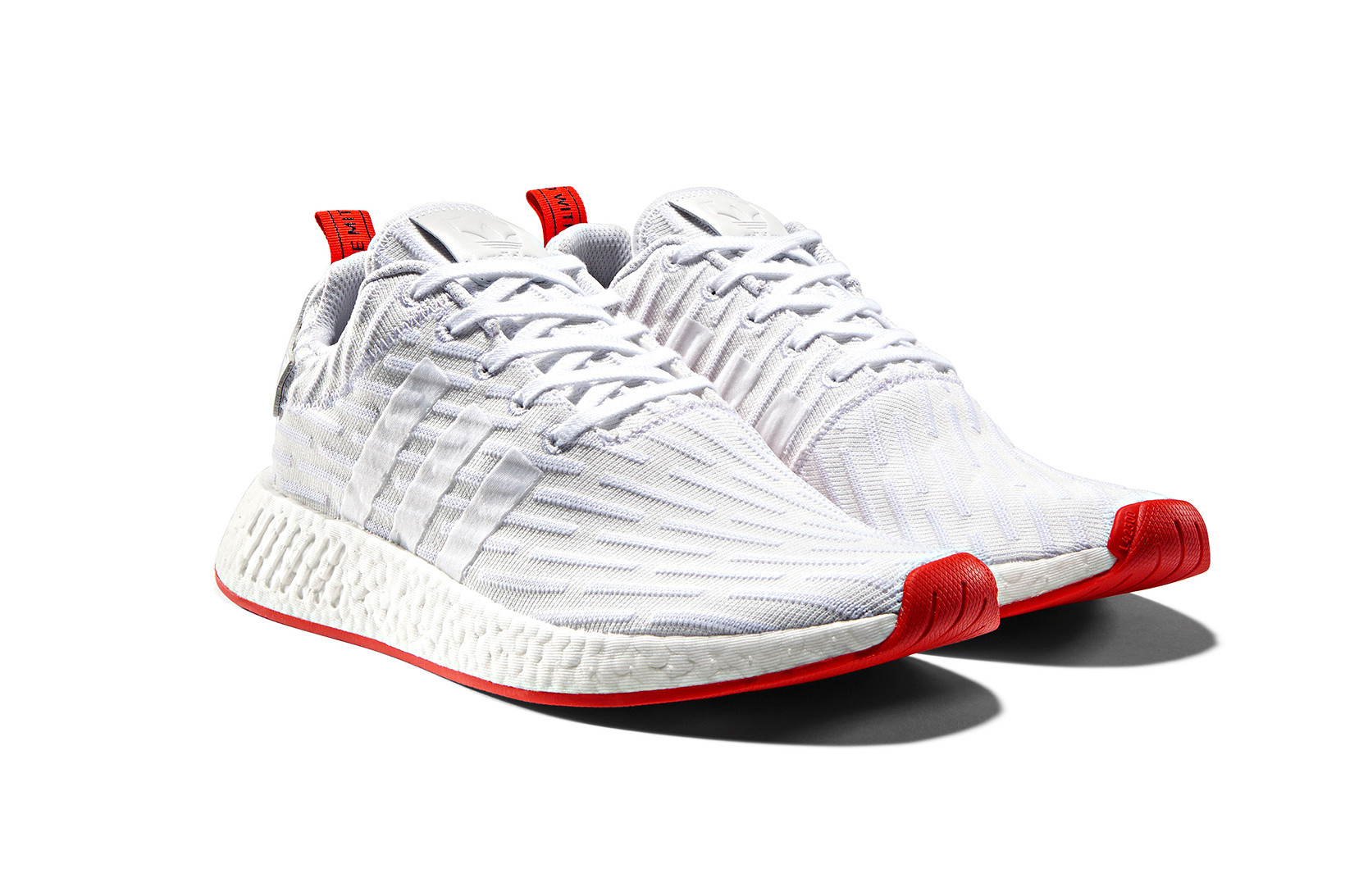 adidas NMD_R2 in White \u0026 Red | HYPEBEAST