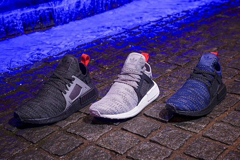 adidas Originals NMD XR1 Black + Grey + Blue
