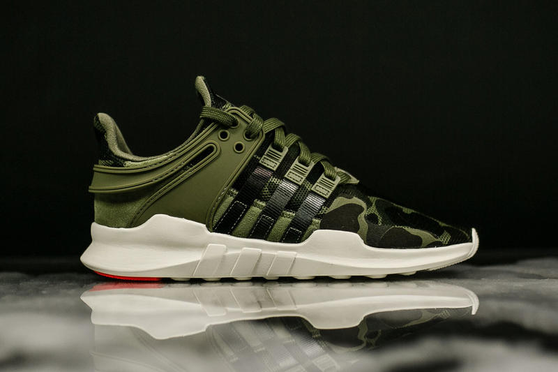ea95b56fa67bf7 adidas Originals EQT Support ADV Camo Pack Olive Black White
