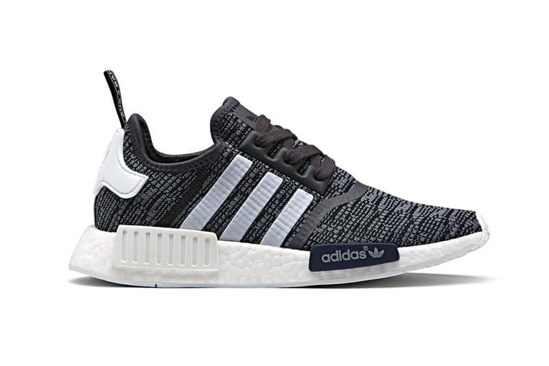 adidas Originals NMD R1 Midnight Grey Sneakers Running Shoes Footwear