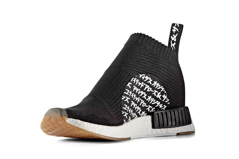 784687937c224 Official Look adidas Originals UNITED ARROWS   SONS MIKITYPE NMD City Sock  Model