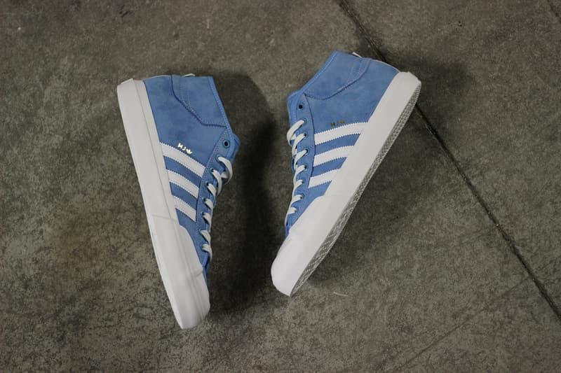adidas Skateboarding Marc Johnson Matchcourts Blue White