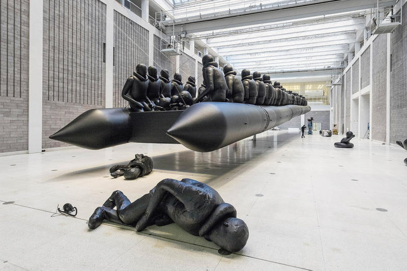 Ai Weiwei's Refugee Boat Is His Largest Work Yet