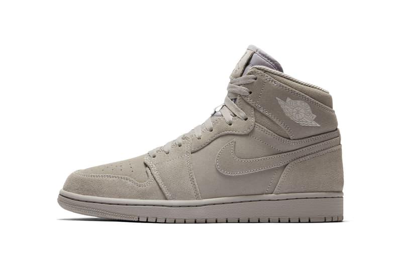 Air Jordan 1 High Grey Suede