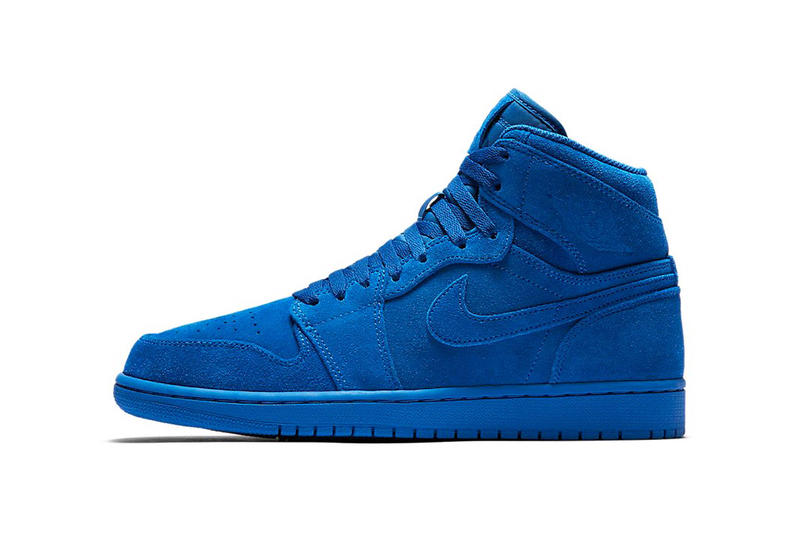 Air Jordan 1 Suede Blue Red