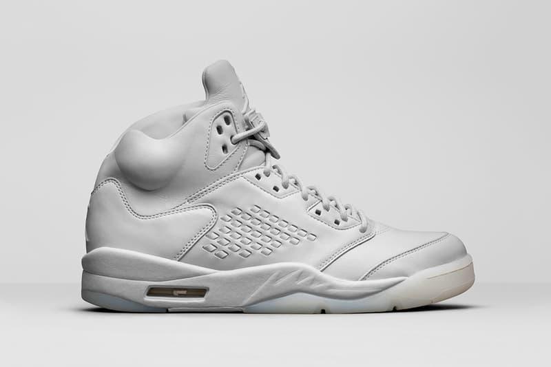 Air Jordan 5 Premium Pure Platinum