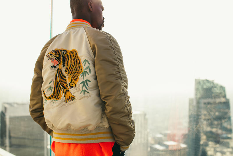 Alpha Industries 2017 Spring/Summer Collection Lookbook m-65 ma-1 l-2b fishtail