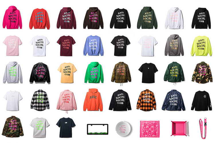 87136fab6 Here s Every Piece from Anti Social Social Club s 2017 Spring Summer  Collection