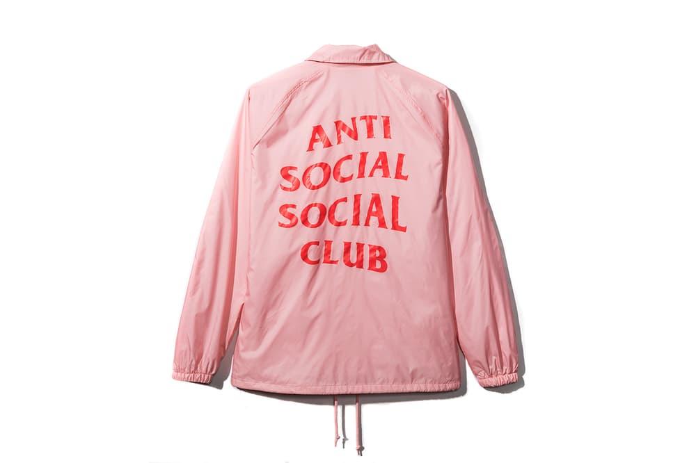 Anti Social Social Club 2017 Spring Summer