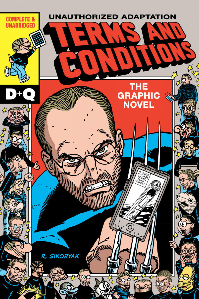 Apple Terms and Conditions Graphic Novel Comic   HYPEBEAST