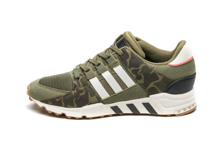 sale retailer 30954 d1955 adidas Dresses the EQT Support RF in Olive Camo