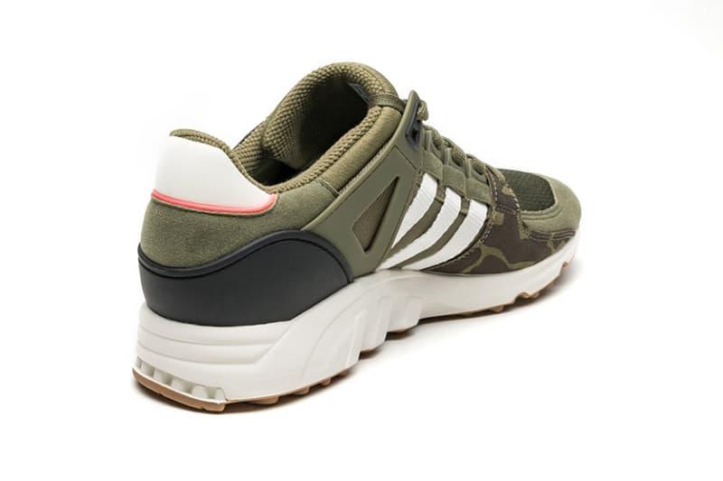 watch e7314 7ec2b adidas Originals EQT Support RF Olive Camo Footwear Sneakers Shoes